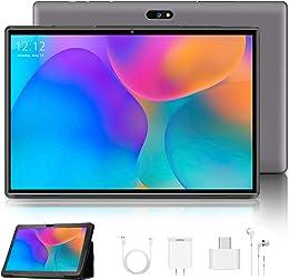 4G LTE Tablette Tactile 10.1 Pouces Android 9.0 Ce