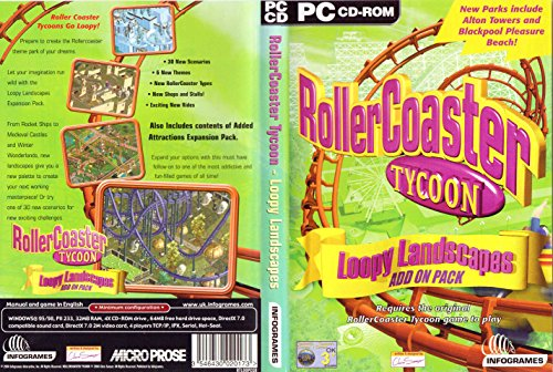 Roller Coaster Tycoon - Loopy Landscapes Add-On Pack (PC) [Importación Inglesa]