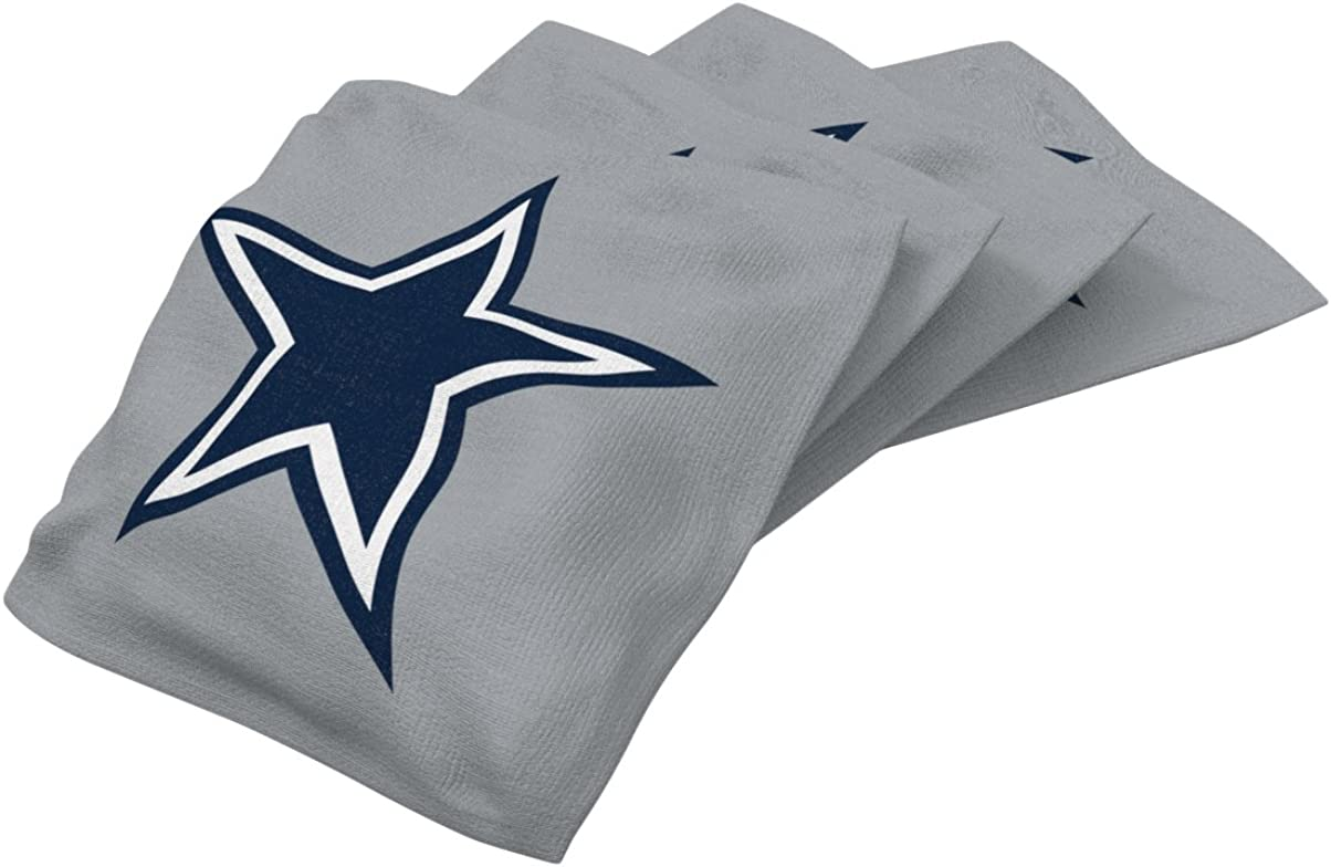 Wild Sports NFL Unisex Authentic Recommended Cornhole Limited time trial price Set 4 Bag Pack Bean