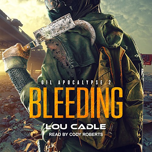 Bleeding audiobook cover art