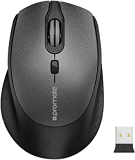 Apple Macbook Pro Wireless Mouse, Ergonomic Lightweight 2.4Ghz Wireless Optical Mouse with USB Nano Receiver, 15m Working ...