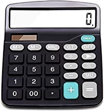 Sponsored Ad - Everplus Calculator, Everplus Electronic Desktop Calculator with 12 Digit Large Display, Solar Battery LCD ...