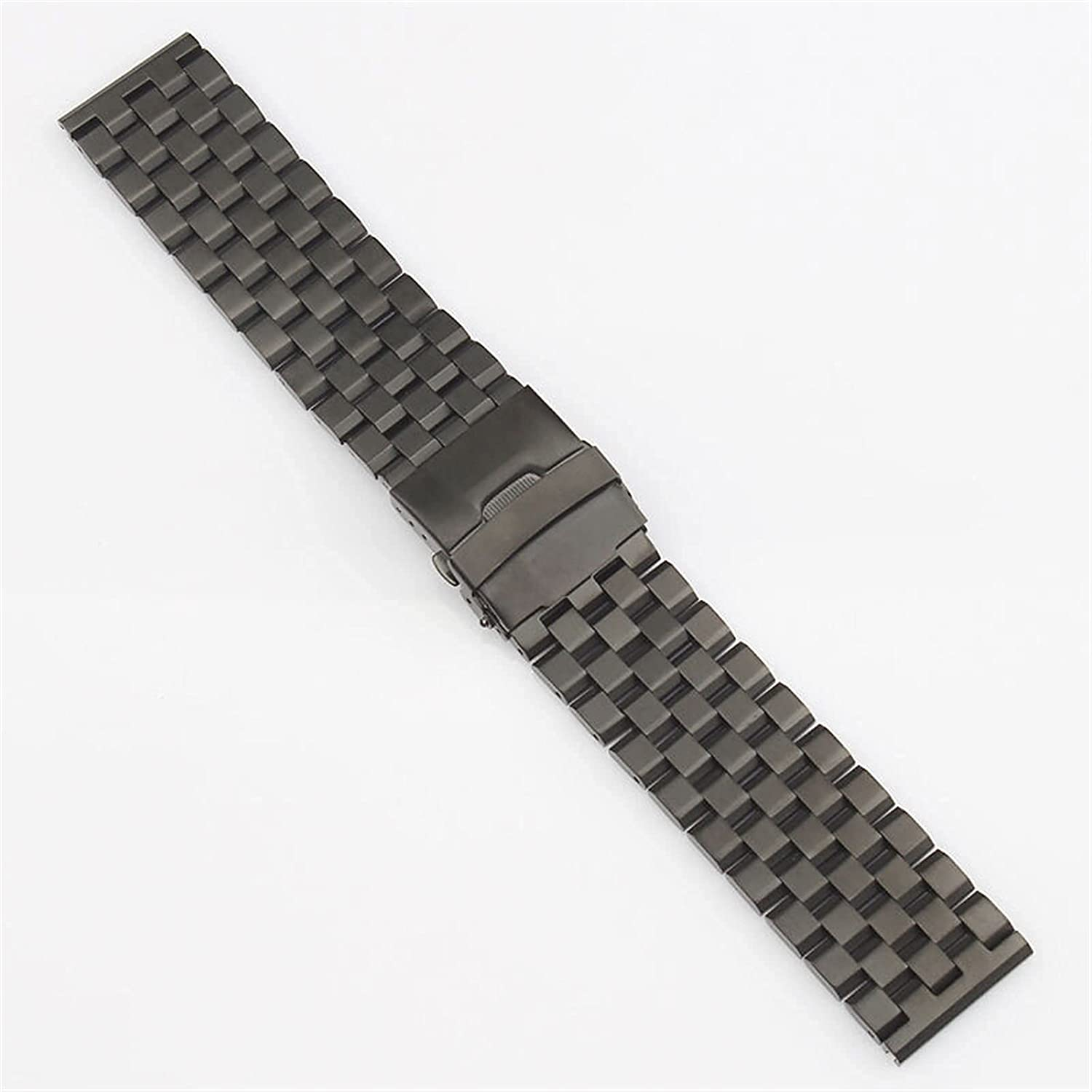 ZJSXIA Watch Strap 20 Ranking TOP12 22 24 Steel S Black Stainless 26mm Silver service