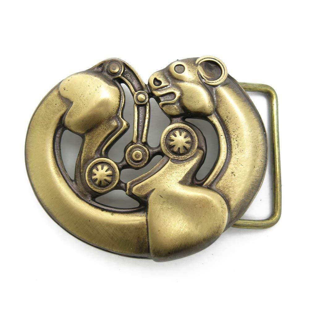 Belt buckle Scythian leopard Handmade Ranking Over item handling TOP5 ornamental d art