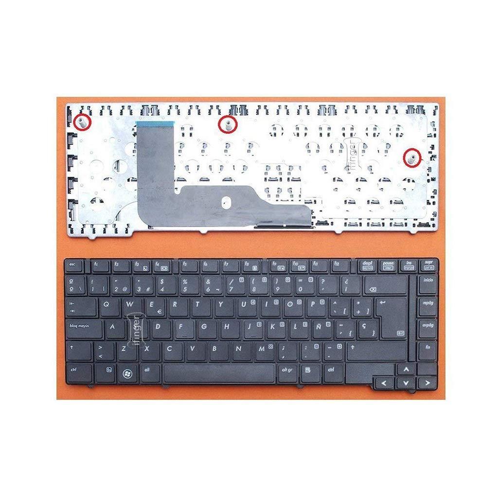 IFINGER Teclado español para HP Compaq EliteBook 594052-A71 Origen ESPAÑA: Amazon.es: Electrónica