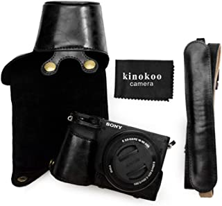 kinokoo Protective Case Bag for Sony A6400 and 16-50mm Lens Camera Case Sony a6400 Case-Black