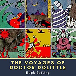 『The Voyages of Doctor Dolittle』のカバーアート