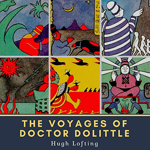 Couverture de The Voyages of Doctor Dolittle