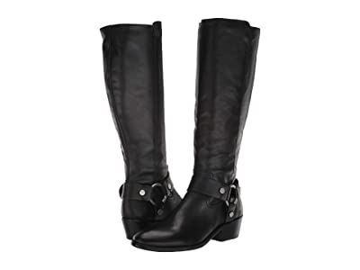 Frye Carson Harness Tall (Black 1) Women