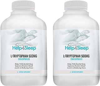 Help4Sleep L-Tryptophan 500mg - 500 Capsules