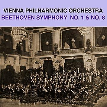 Beethoven: Symphony Nos. 1 & 8