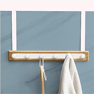 Wall-Mounted Coat Rack Over The Door Hook The Space Aluminum Door Hanger for Hanging Coats Hats Bath Towels Towels Bathroo...