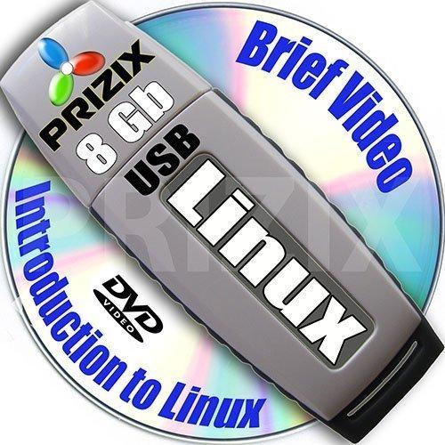 Linux Live USB de 8 GB Flash y 7-DVD, instalación y configuración de referencia, 64-bit: Ubuntu 16.04, Fedora 24, Mint 18, Debian 8, Centos 7 y Kubuntu 16.04