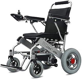 YELLAYBY Batería de litio de seguridad para sillas de ruedas eléctrica (20A) Silla de ruedas eléctrica, plegable y liviana, 360¡ Rocker All Terreno Plegable Silla de ruedas Doble Motor Dual Motor eléc