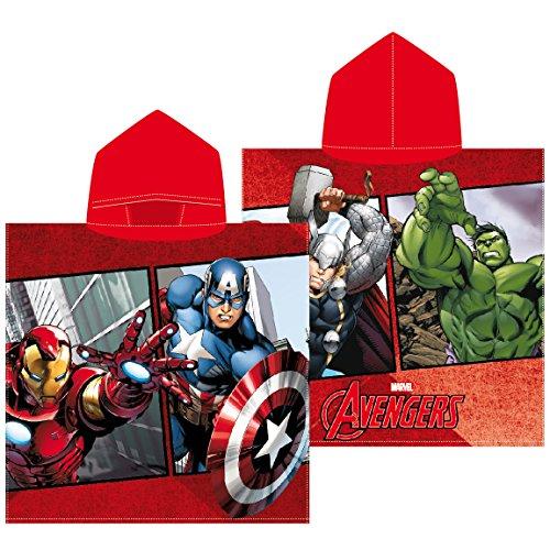 Textil Tarragó Avengers Toalla con Capucha