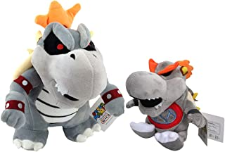 Super Mario Bros Dry Bowser Baby Dry Bowser Troopa Boss Plush Toy Stuffed Animal Soft 9