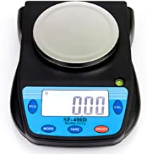 500g x 0.01g Digital High Precision Laboratory Analytical Balance Scale with Large LCD Display, Multifunctional Compact Lab Scales Accuracy Weighs Grams, Carats, Ounces, Pounds for Science, Postal