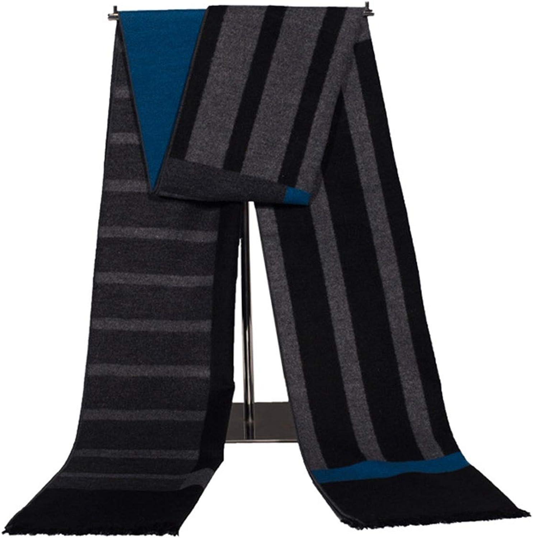 AMDXD Artificial Silk Women Scarf greenikale Striped Scarves Rhombus Scarf Style 09 180CM