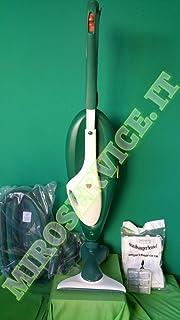 3.5 Litri folletto Kobold  Aspirapolvere Vorwerk 136 HD 36 con Ruote Verde//Bianco 900 Decibel Ricondizionato 900 W