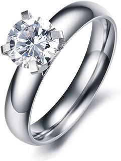 titanium rings with stones