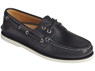 Sperry Gold Cup A/O 2-Eye Orleans (Black) Men