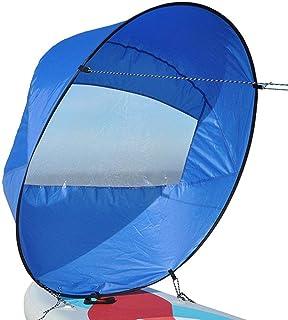 Chlius - Kit de vela para kayak (42 pulgadas, plegable, con bolsa de almacenamiento, portátil, tabla de surf de canoa, para Kayak y barcos de kayak