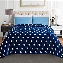 Jml Luxury Flannel Fleece Blanket - Printed Warm Fuzzy Ultra Plush Lightweight Couch Bed Blanket All Season Full Size