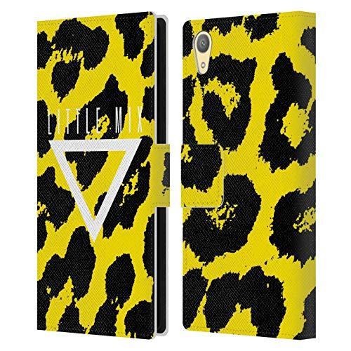 Officiële Little Mix Dierenprint Grafische afbeeldingen Lederen Book Portemonnee Cover Compatibel voor Sony Xperia XA1 Plus