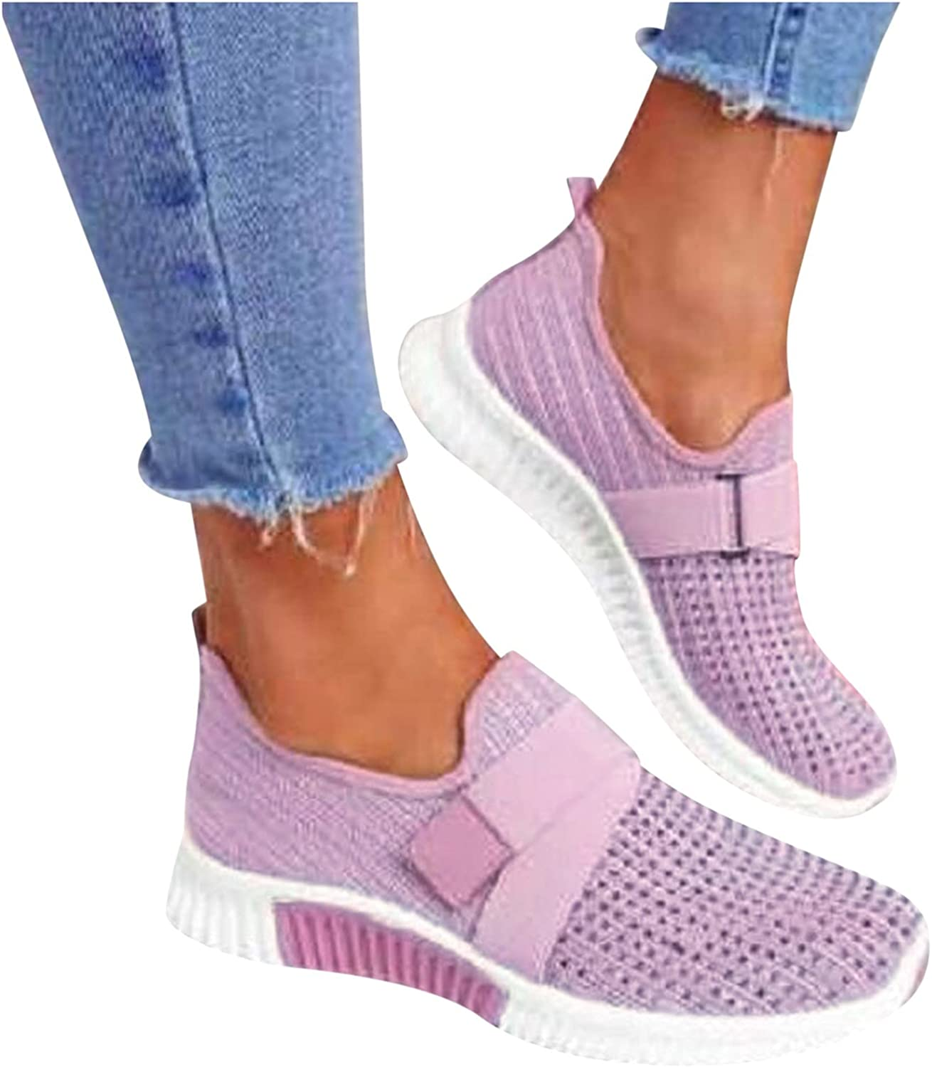 Fasion Pink Sneakers for Women Comfy Women's Shoes M Lightweight excellence Store