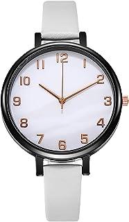 Orologi Da Donna Numeri arabi semplici Lady watch moda al quarzo in pelle di quarzo orologio orologio vestito casual orolo...
