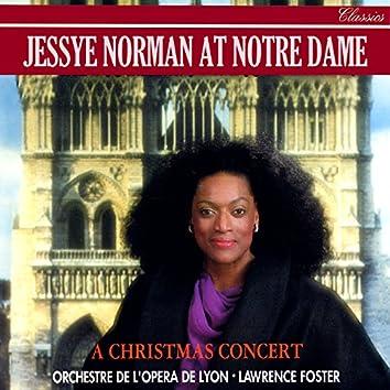 Jessye Norman at Notre-Dame