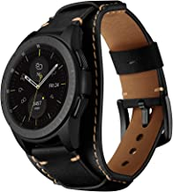 Best galaxy watch leather cuff Reviews