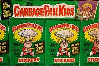 Garbage Pail Kids Series 3 - Lot Of 4 Packs