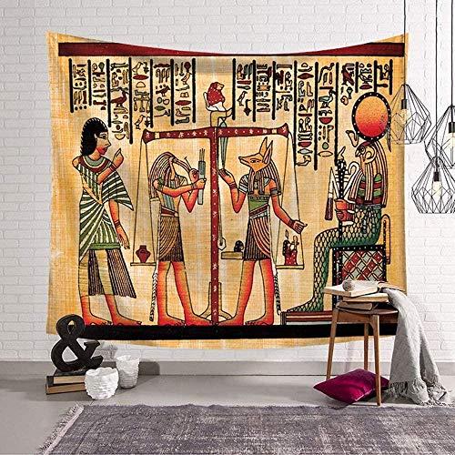 EDLSYDecoratie tapijt wandkleden oude egypte decor kunst huis slaapkamer woonkamer slaapzaal wandtapijten creatief (200 x 150cm a)
