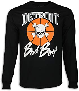 Detroit Pistons Bad Boys Apparel- Historic Men's Long Sleeve T-Shirt