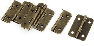 Sintética ventana cajón bisagras 3 cm Largo 8 piezas tono
