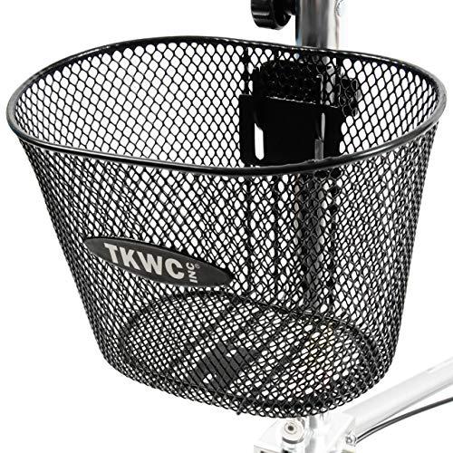 Knee Scooter Basket Accessory by TKWC INC - Universal Bracket Mount Included! - Fits Most Knee Walker Models