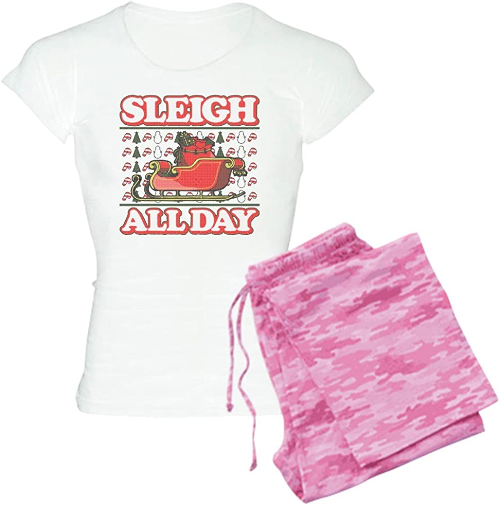 Max 42% OFF CafePress service Sleigh All Day Women's PJs