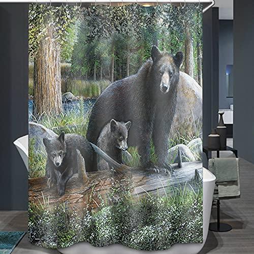 BOLO Shower curtain, waterproof,W150cmXL200cm