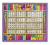 Melissa & Doug Wooden Stringing Beads | Arts & Crafts | DIY | 4+ | Gift for Boy or Girl