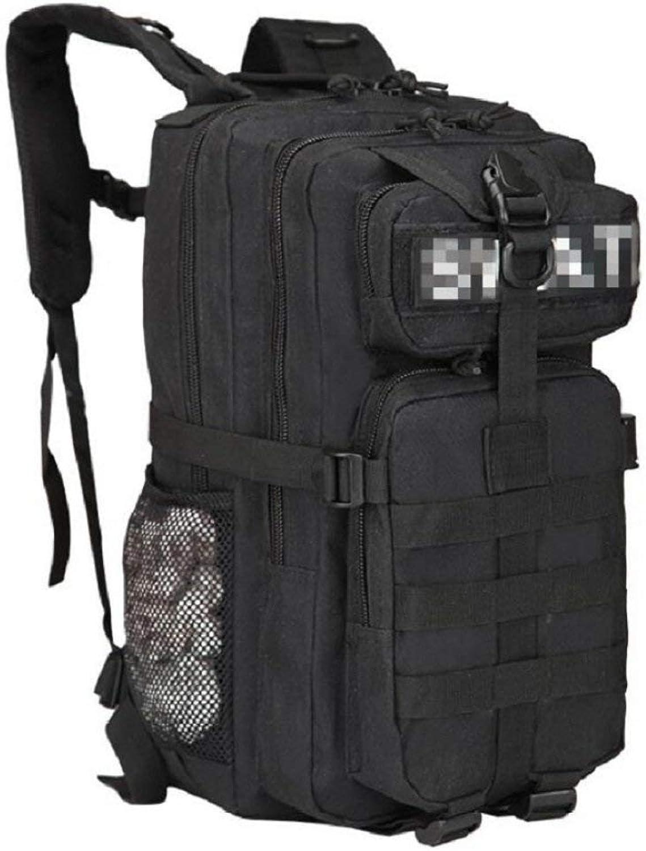 Lounayy Camping Daypacks Outdoor Backpack Wandern Mode Sporttaschen Oxford Stylisch Tactical Camouflage Outdoor Camping Schultern 3P25L Nylon Stoff Rucksack Komfortable Weiche Textur Gut