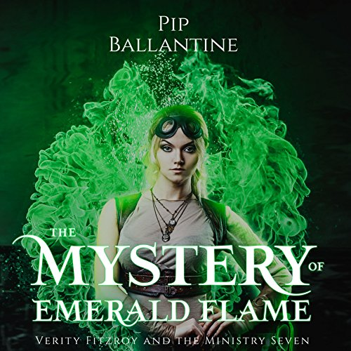 The Mystery of Emerald Flame audiobook cover art