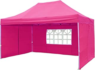 10'x15' Pop up Canopy Wedding Party Tent Gazebo EZ Pink - F Model Commercial Frame By DELTA Canopies