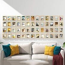 GJNVBDZSF Conjunto de molduras para parede, conjunto de 52 molduras para foto, combinação de decoração de sofá, parede O51316
