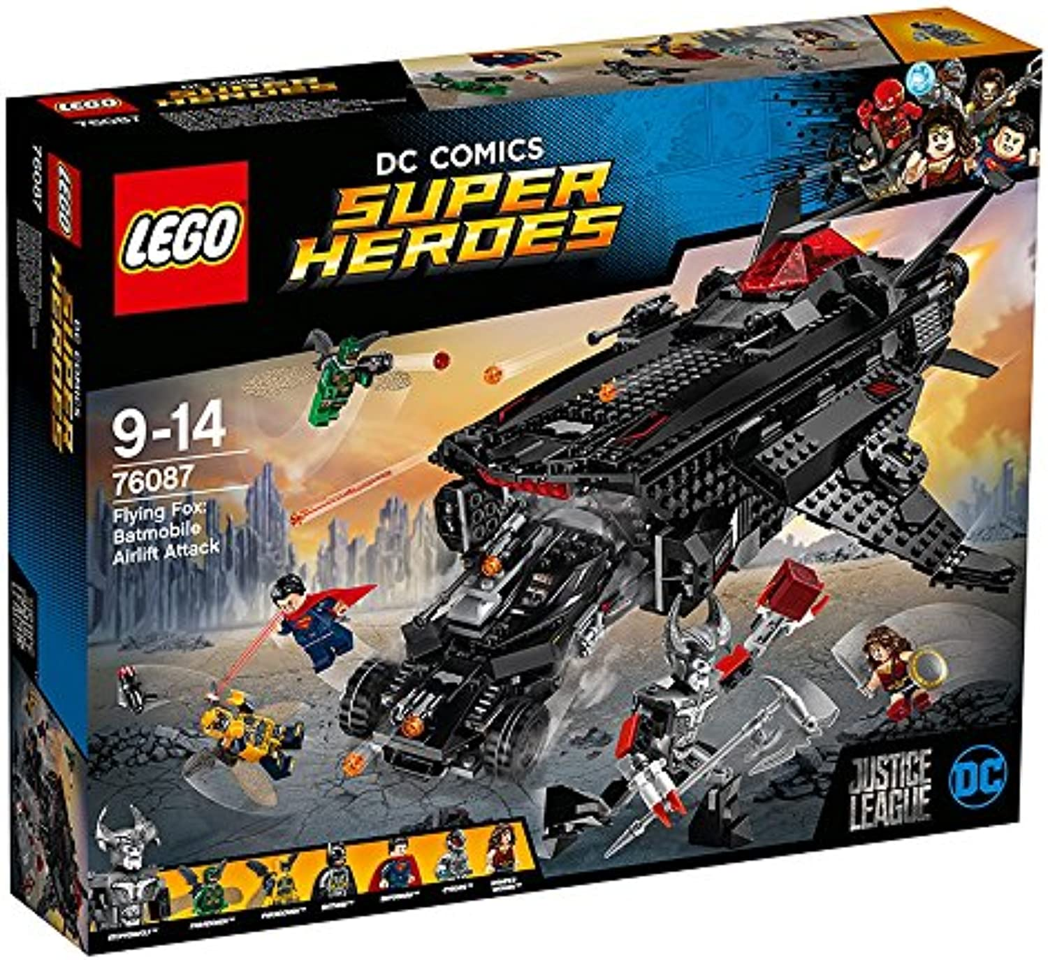 LEGO DC Super Heroes Flying Fox  Batmobil-Attacke aus der Luft