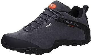 Men's Outdoor Low-Top Lacing Up Water Resistant Trekking Hiking Shoes