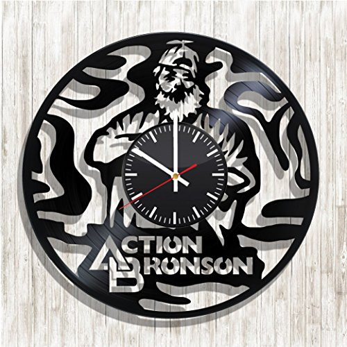 Design wall clock Action Bronson made from real vinyl record, Action Bronson decal, Action Bronson poster, best gift for Action Bronson fans, design art wall decor