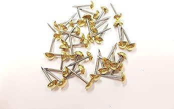 12m diametro decorativo mobili chiodi 500 Margherita design ottone chiodini di tappezzeria