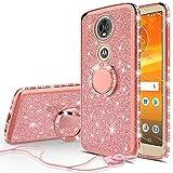 SOGA Diamond Bling Glitter Cute Phone Case with Kickstand