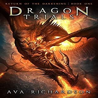 Dragon Trials audiobook cover art